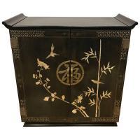 Black Bar Cabinet Furniture  Review Home Decor