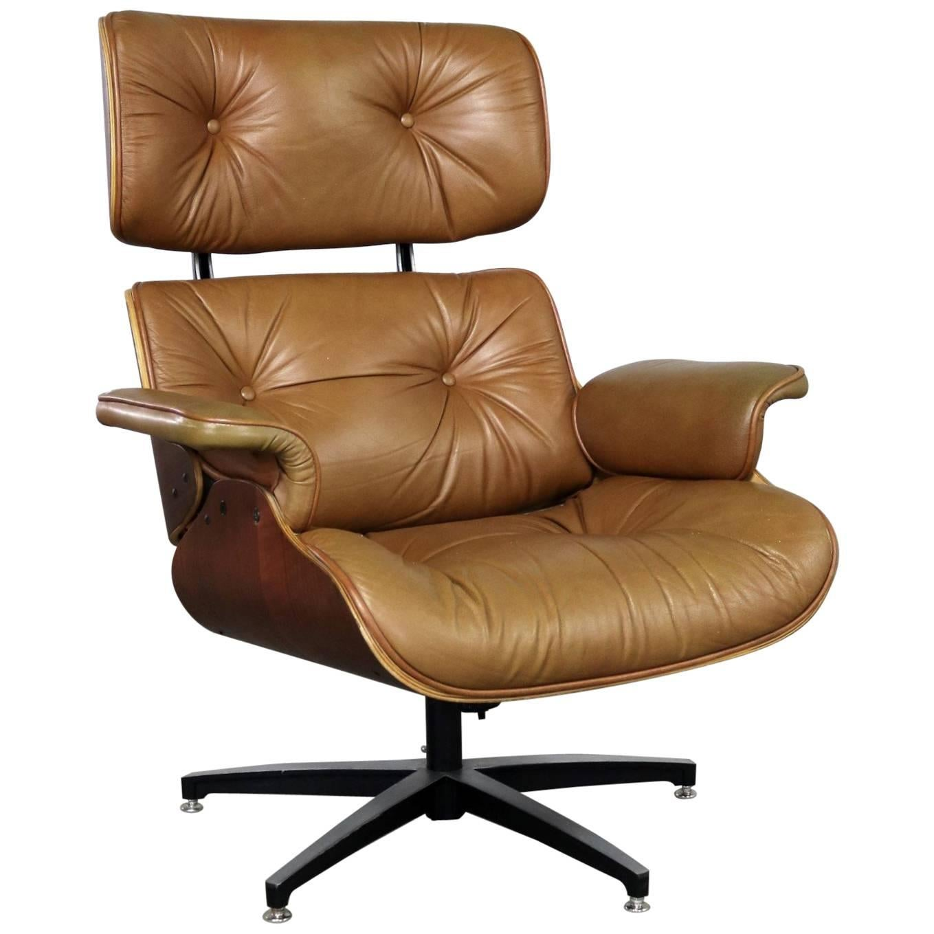 Selig Chair Mid Century Modern Lounge Chair Attributed To Selig Plycraft In Style Of Eames