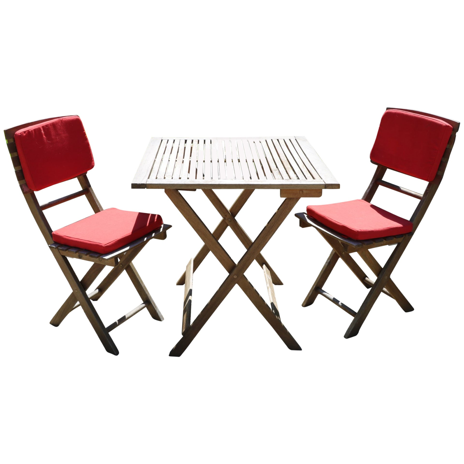 Outdoor French Bistro Chairs Bon Appétit French Teak Bistro Indoor Outdoor Folding Table And Chairs