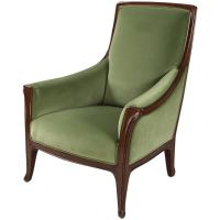 "A French Art Nouveau ""Poppy"" Side Chair by, Louis"