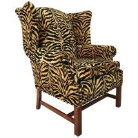 William IV Style Wingback Chair at 1stdibs