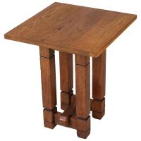 Oak Art Deco Coffee Table by A.R. Wittop Koning for J.H ...