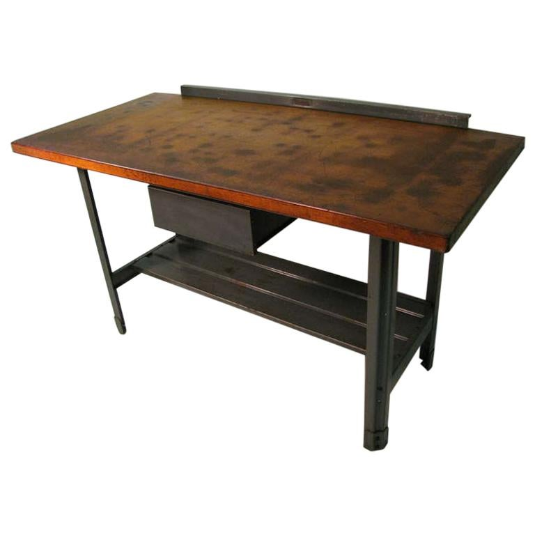 kitchen work tables flooring options for steel and wood industrial machine shop table desk or island sale