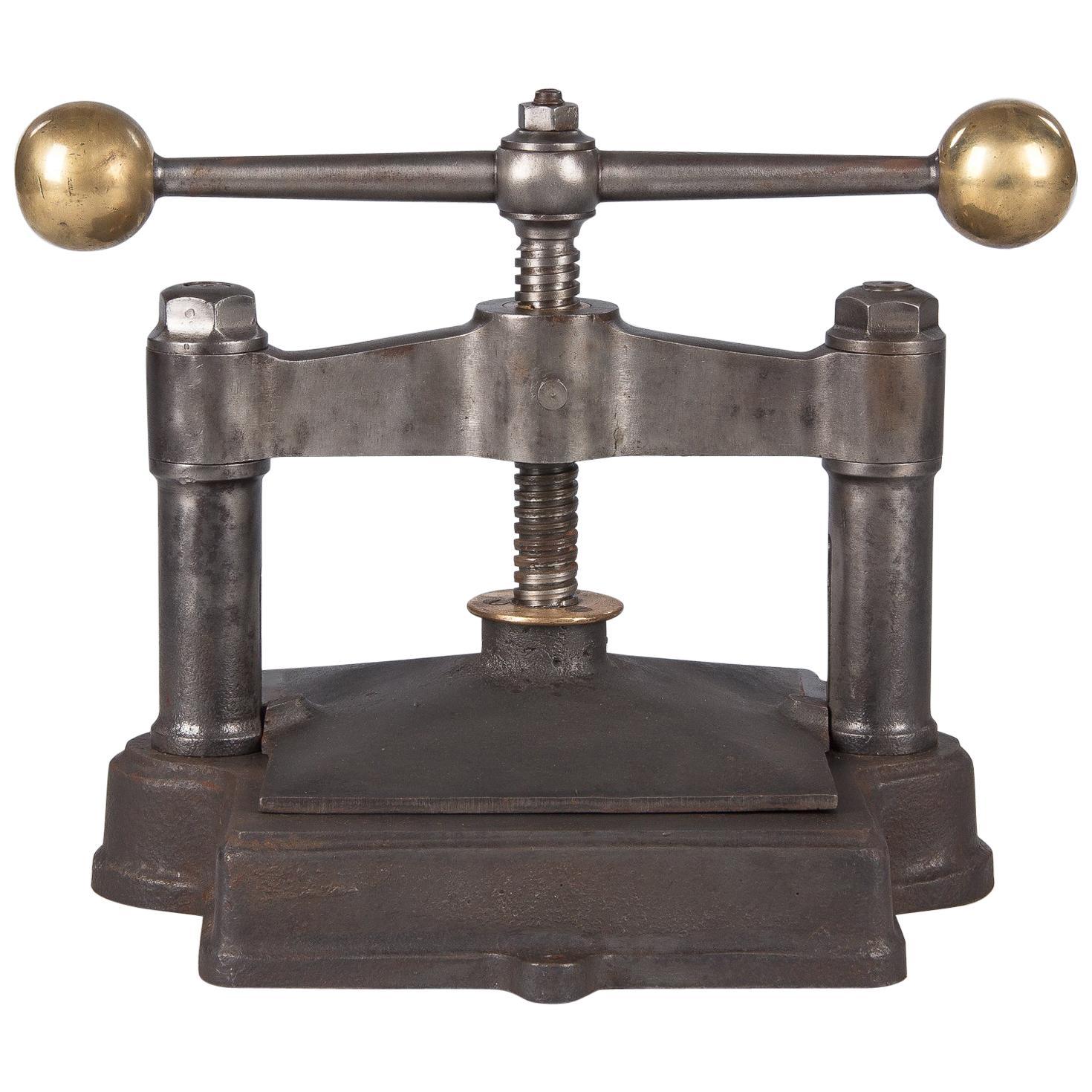 Antique Iron Press Machine