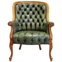 Chesterfield Chippendale Armchair Club Chair Chairs ...