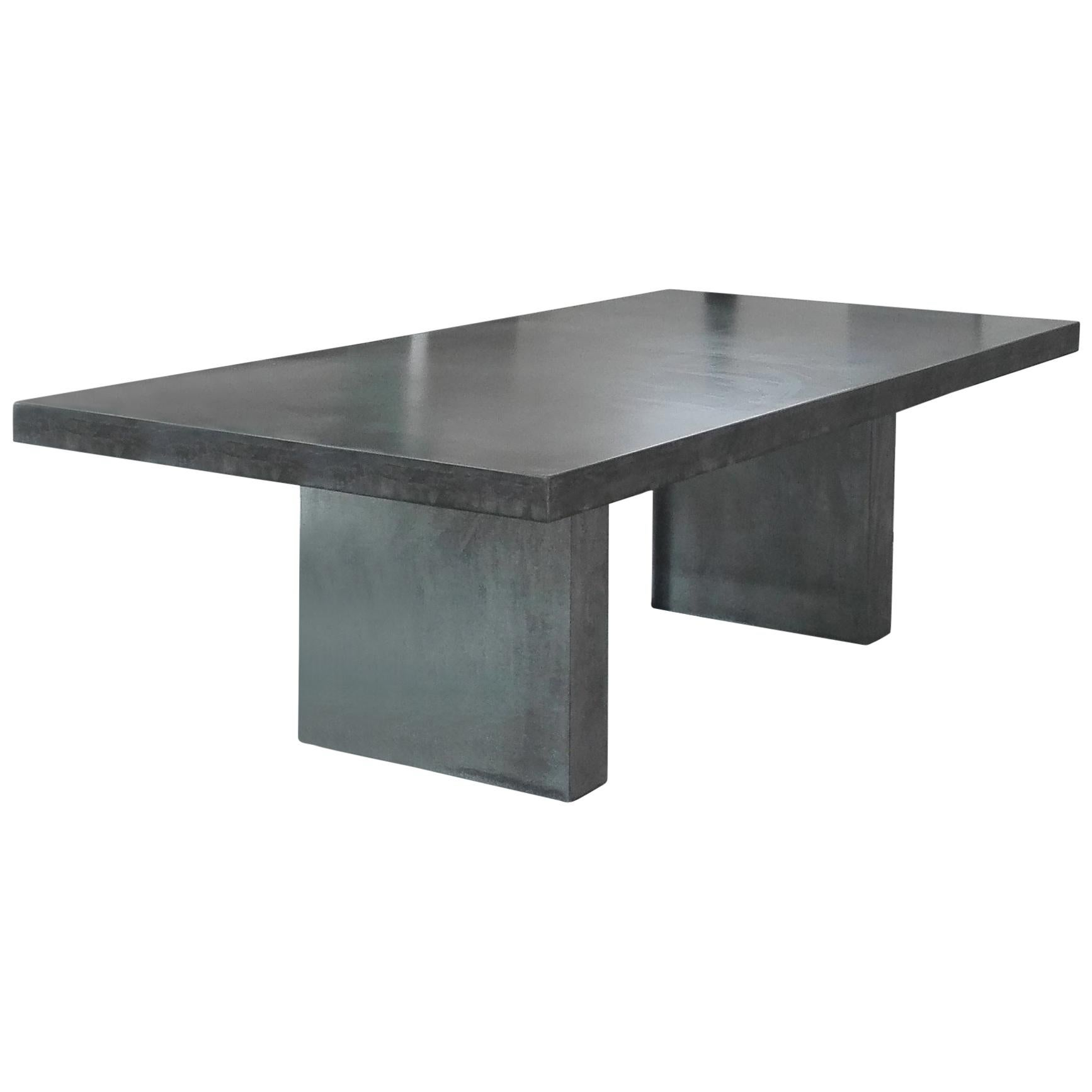 Giorgione Concrete Dining Table 100 Handcrafted In Italy For Sale At 1stdibs