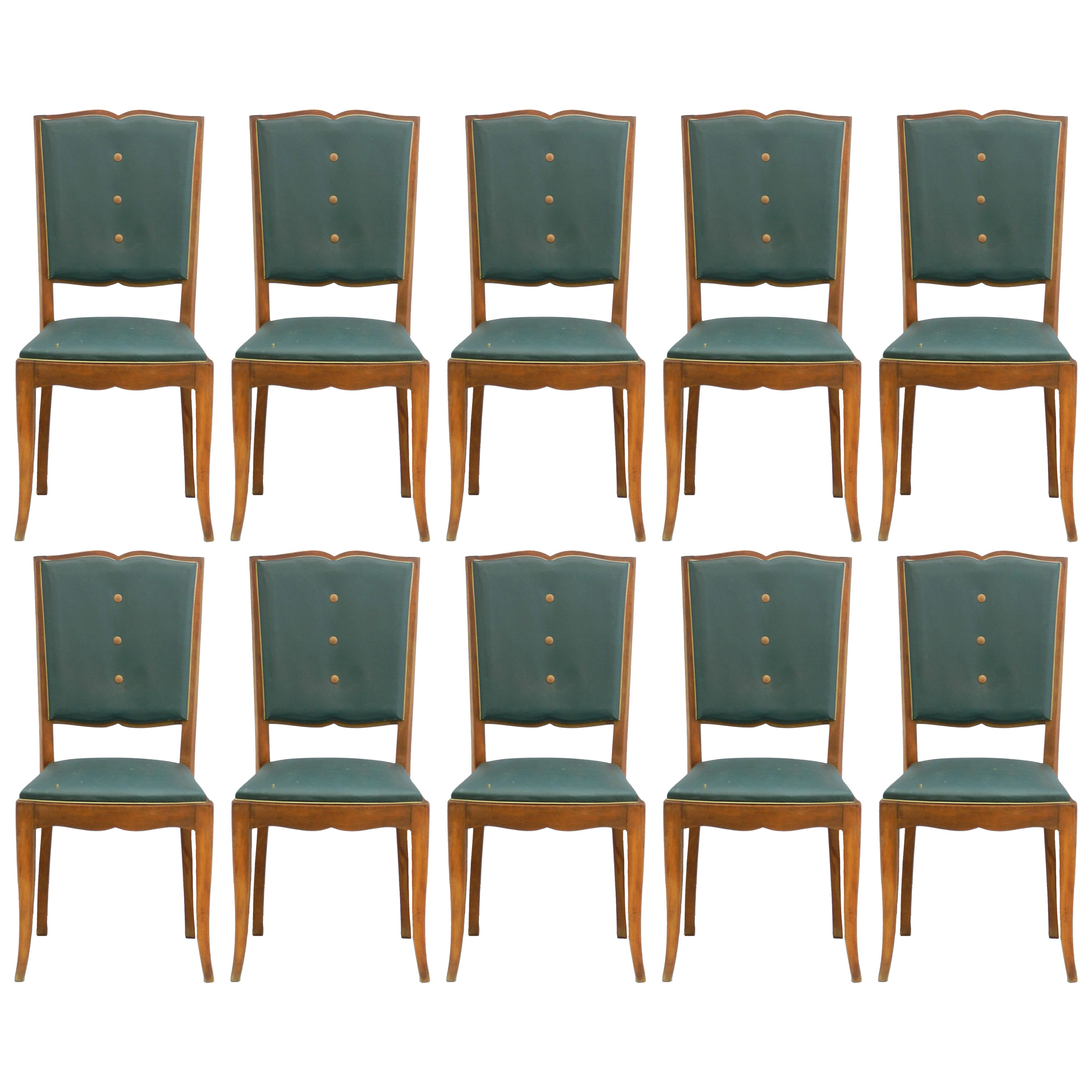 Art Deco Dining Chairs Ten Art Deco Dining Chairs French Moustache Back To Restore Or Customized