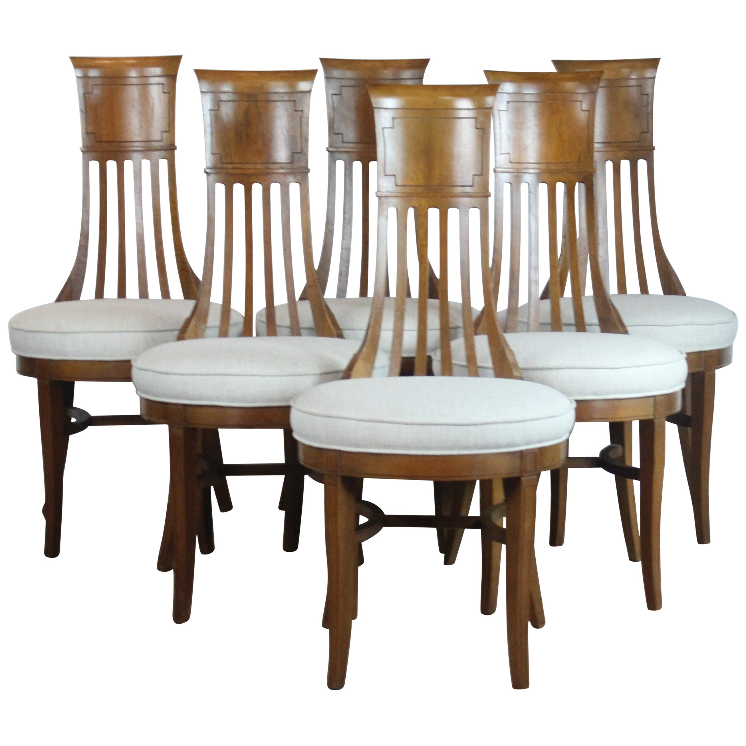 Dining Chair Set Of 6 Biedermier Style Dining Chair Set Of 6