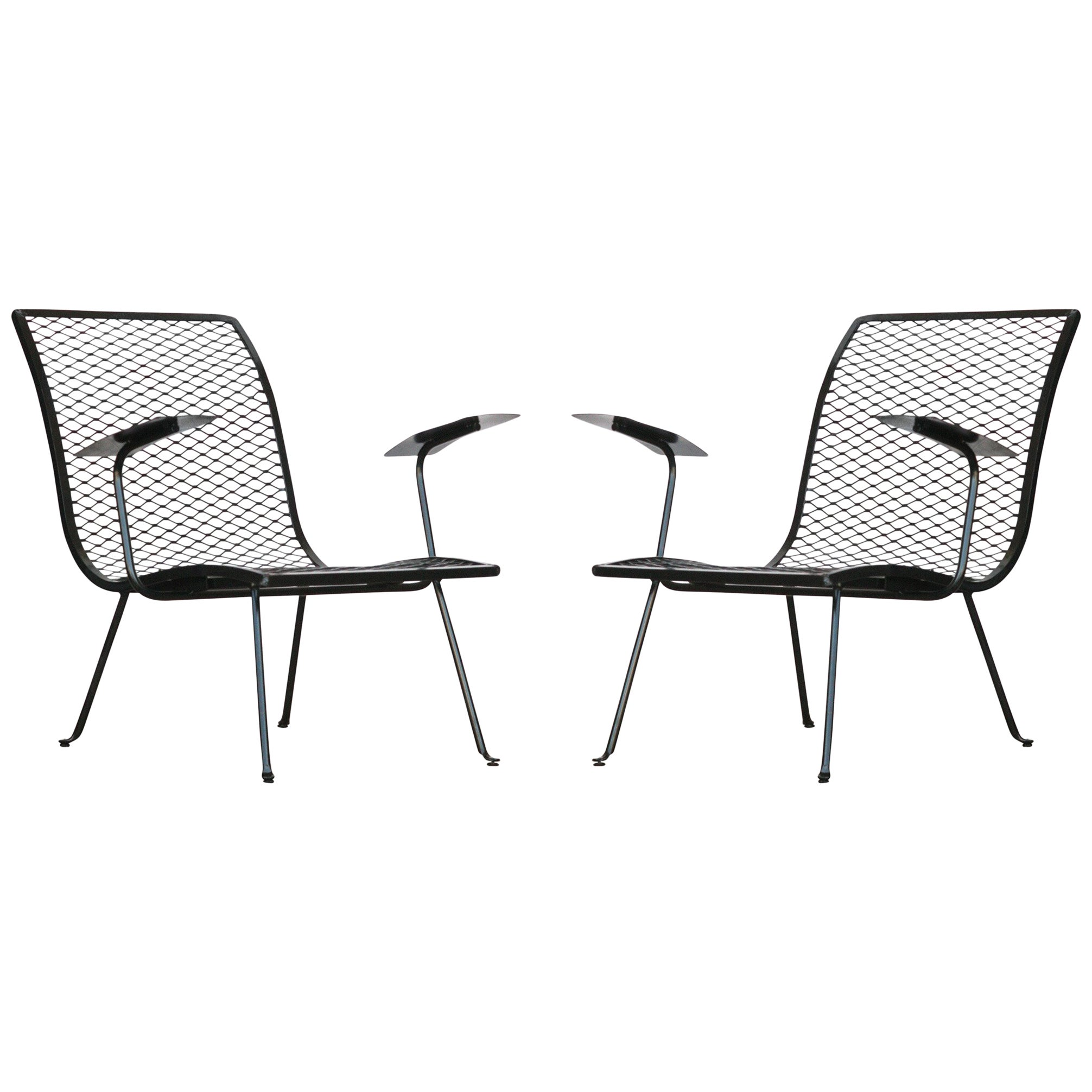 Studio Chairs Pair Of Outdoor Lounge Chairs By Karl Lightfoot Studio