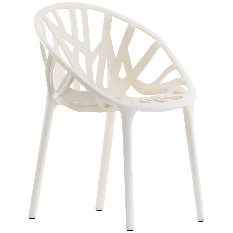 Vitra Vegetal Chair in Cream by Ronan and Erwan Bouroullec ...