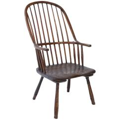 Windsor Chair With Arms Baxton Studio Modern Leather Accent Black And Chrome Antique Vintage Chairs 157 For Sale At 1stdibs