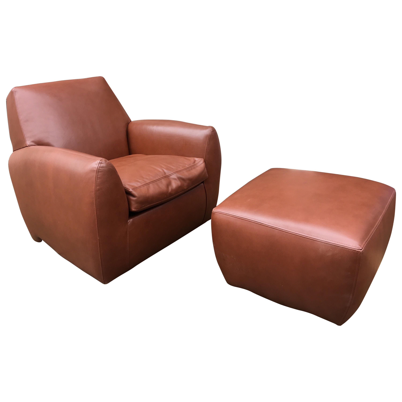 swivel club chair with ottoman ace bayou bean bag dakota jackson leather ke zu and 1988 for sale