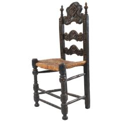 High Chairs On Sale Wedding Chair Covers Melbourne Italian Renaissance Style Carved Ladder Back For At