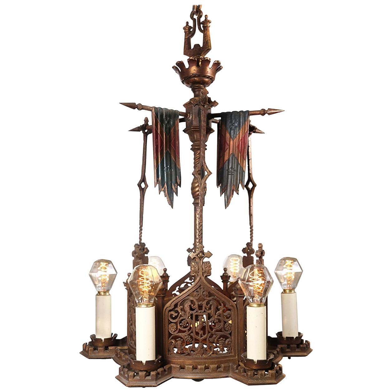 spanish revival lighting chandelier