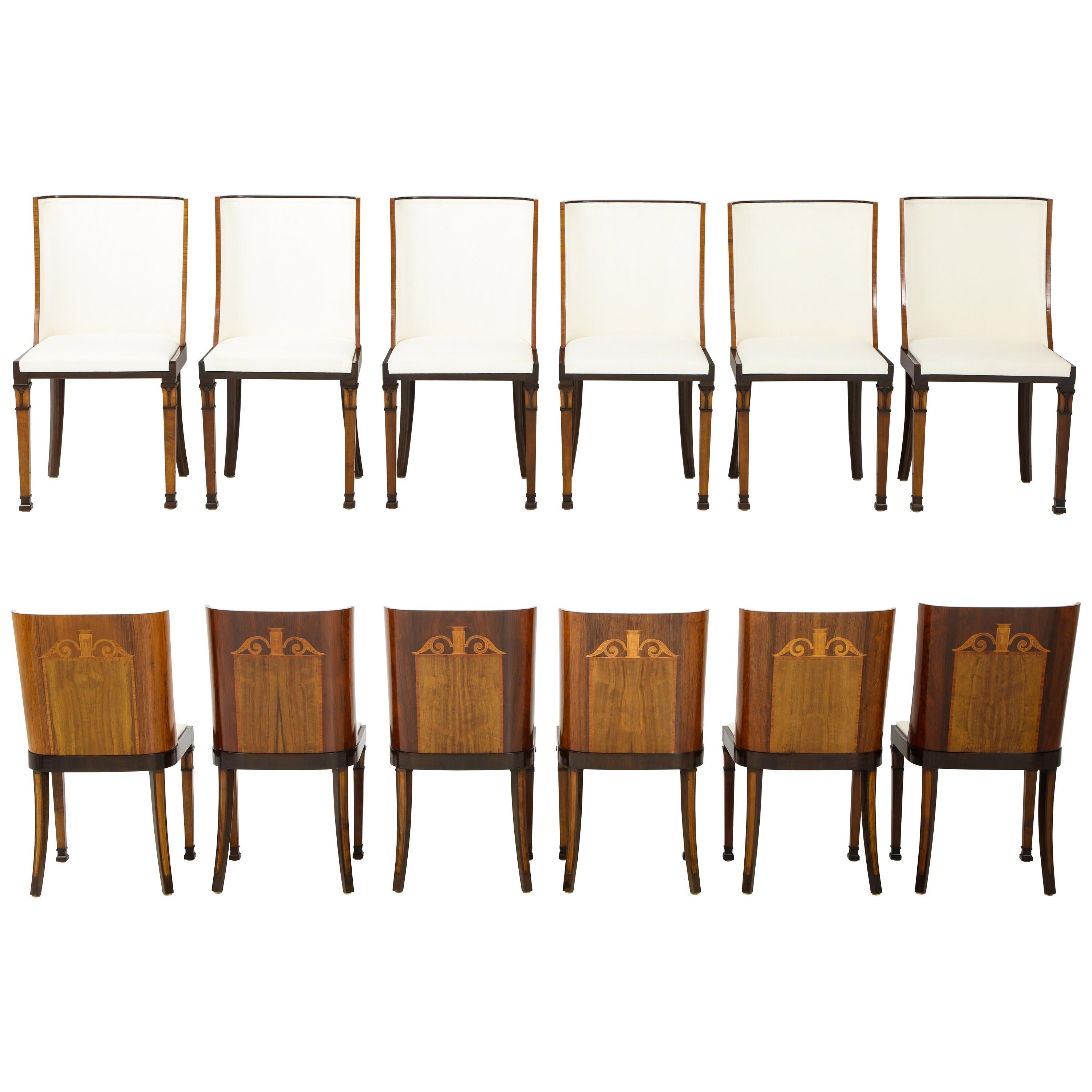 vintage dining room chairs mesh chair antique and 9 083 for sale at 1stdibs rare set of swedish grace twelve attributed to carl bergsten