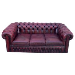 Chesterfield Sofa London Second Hand Reviews Uk Sofas 55 For Sale At 1stdibs English Red Leather