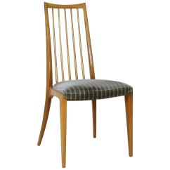 Striped Dining Chair Folding Bar Chairs 63 For Sale On 1stdibs Filigree By Ernst Martin Dettinger Lubke Germany 1960s