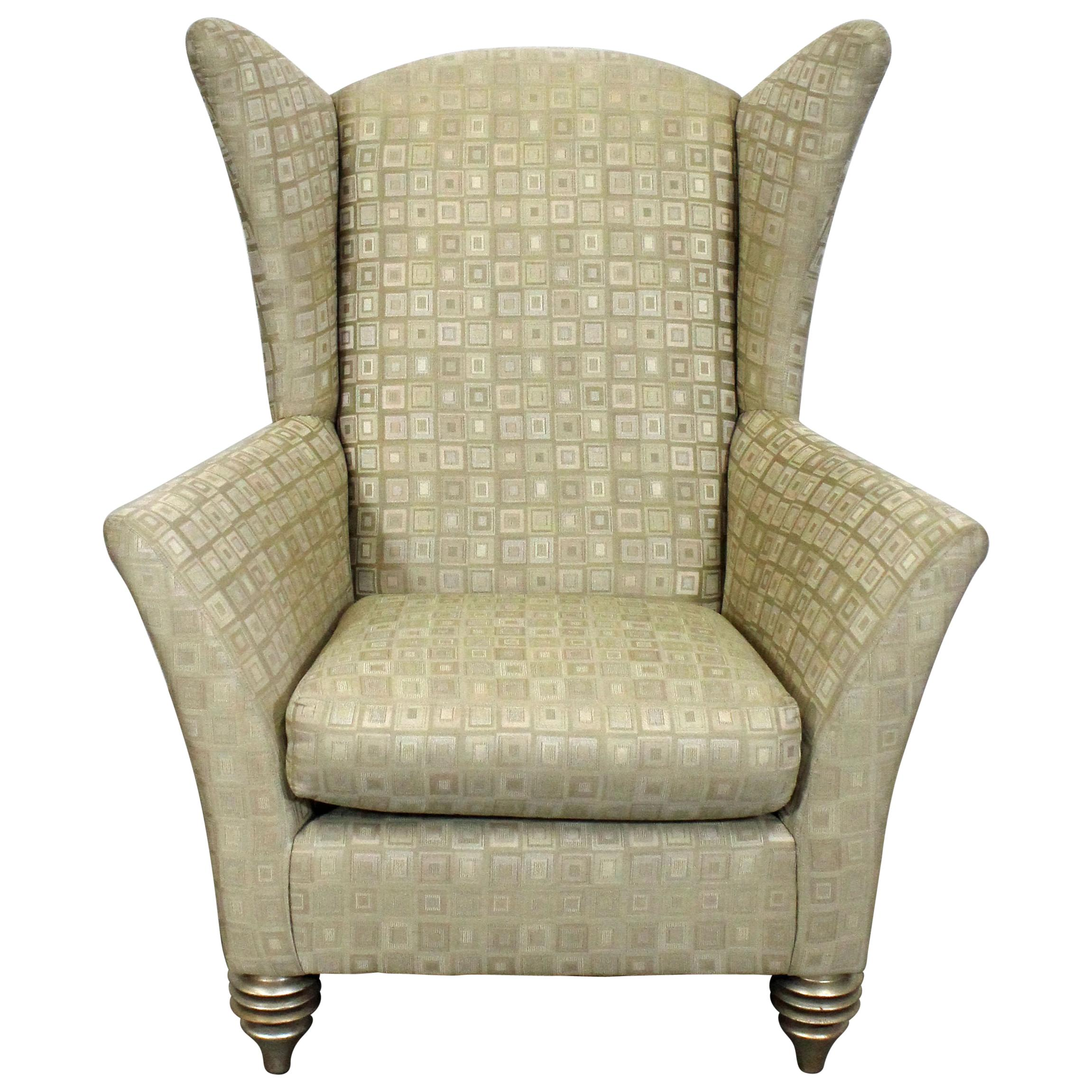 Modern Wing Chair Modern Larry Laslo For Directional Club Wing Chair