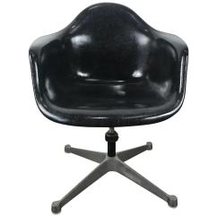 Revolving Chair Best Price Folding Umbrella Clamp Antique And Vintage Swivel Chairs 1 314 For Sale At 1stdibs Rare Black Fiberglass Tilt Arm Shell Aluminium Base Dat By Charles Eames