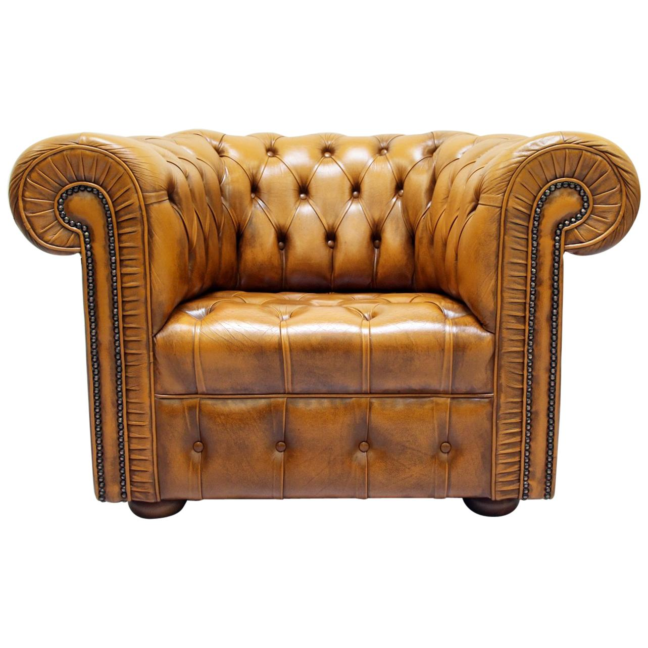 Ledersessel Vintage Chesterfield Ledersessel Antik Vintage Englisch Sessel For ...