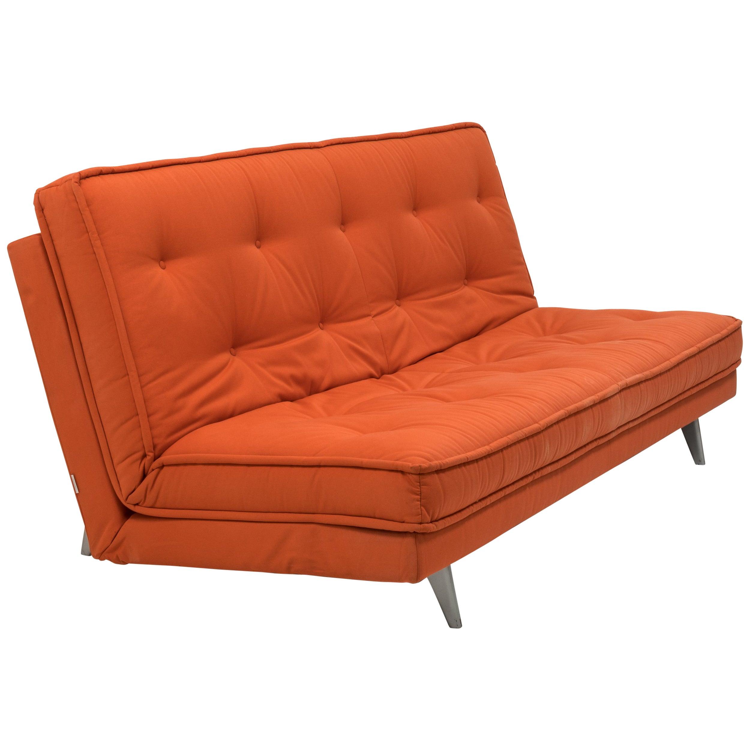 nomade express red sofa