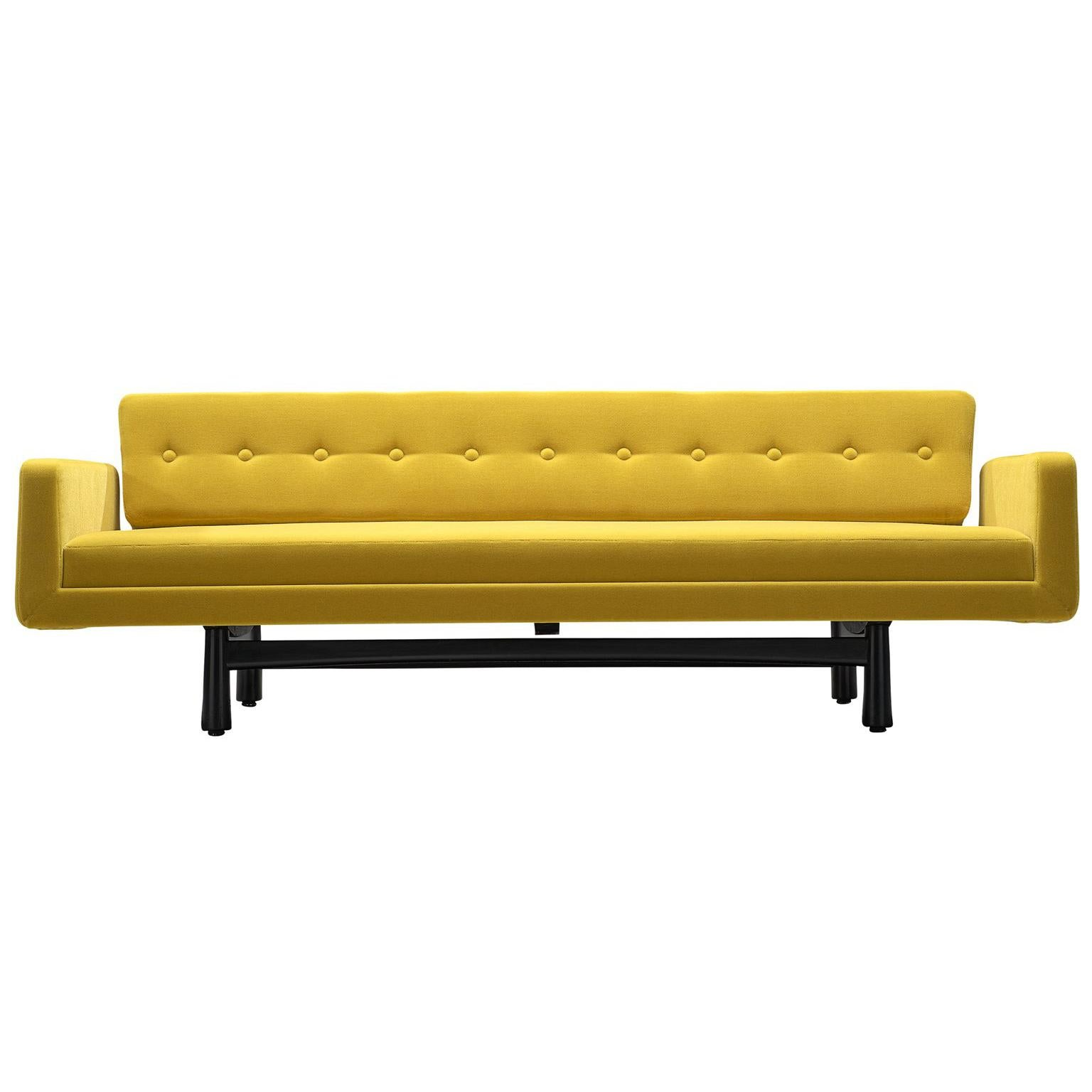 reupholster sofa south london solid wood malaysia antique and vintage sofas 7 231 for sale at 1stdibs edward wormley reupholstered yellow model 5316
