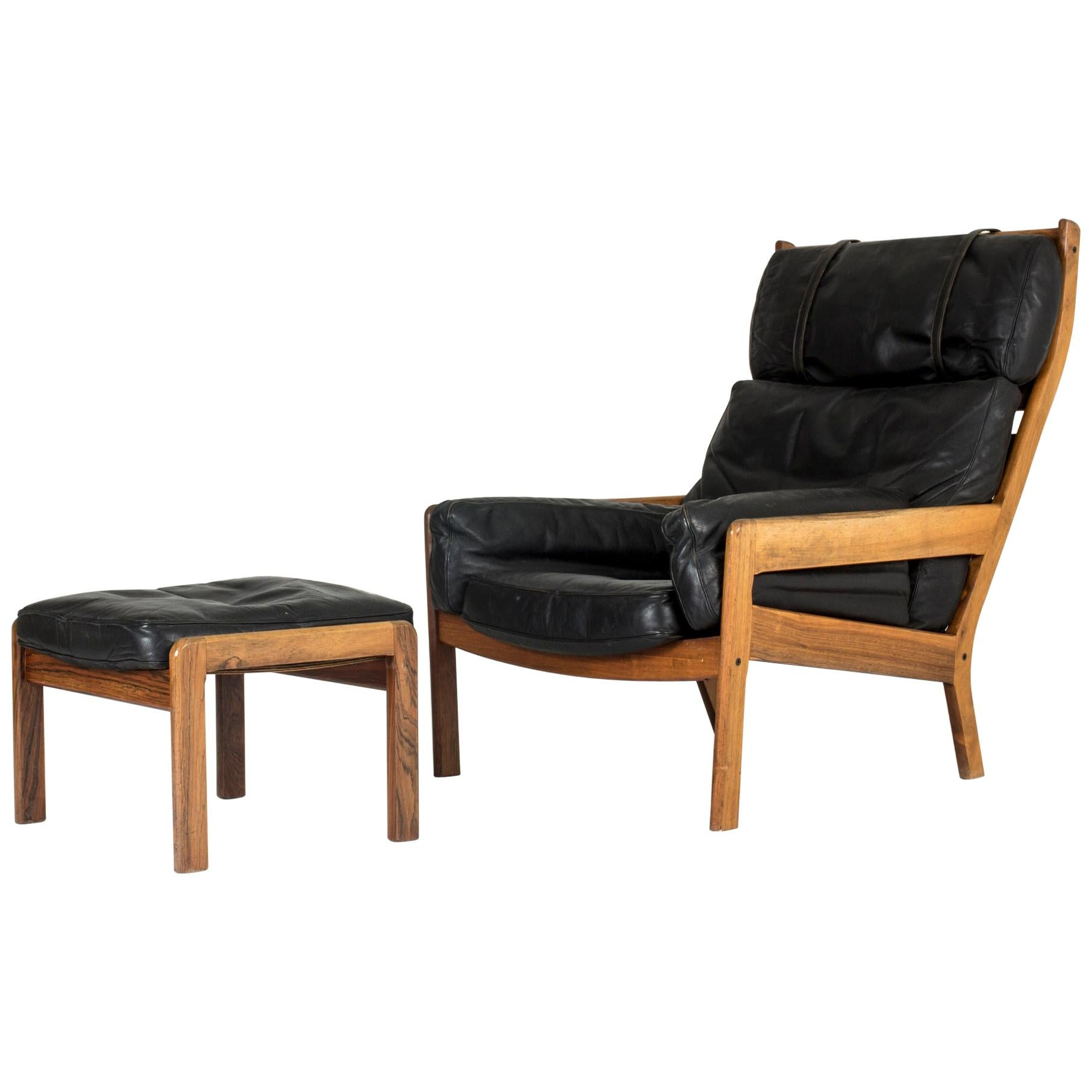Cool Lounge Chairs Midcentury Swedish Lounge Chair With Ottoman