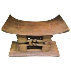 Stool Chair Ghana Minnie Mouse Desk African Ashanti Wood 1920s For Sale At 1stdibs