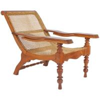 Antique Mahogany Plantation Chair For Sale at 1stdibs