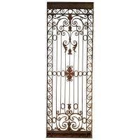 Large French Wrought Iron Gate, circa 1880 For Sale at 1stdibs