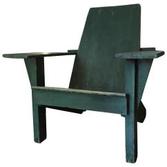 Adirondack Chairs For Sale Outdoor Folding With Canopy Antique American Chair At 1stdibs