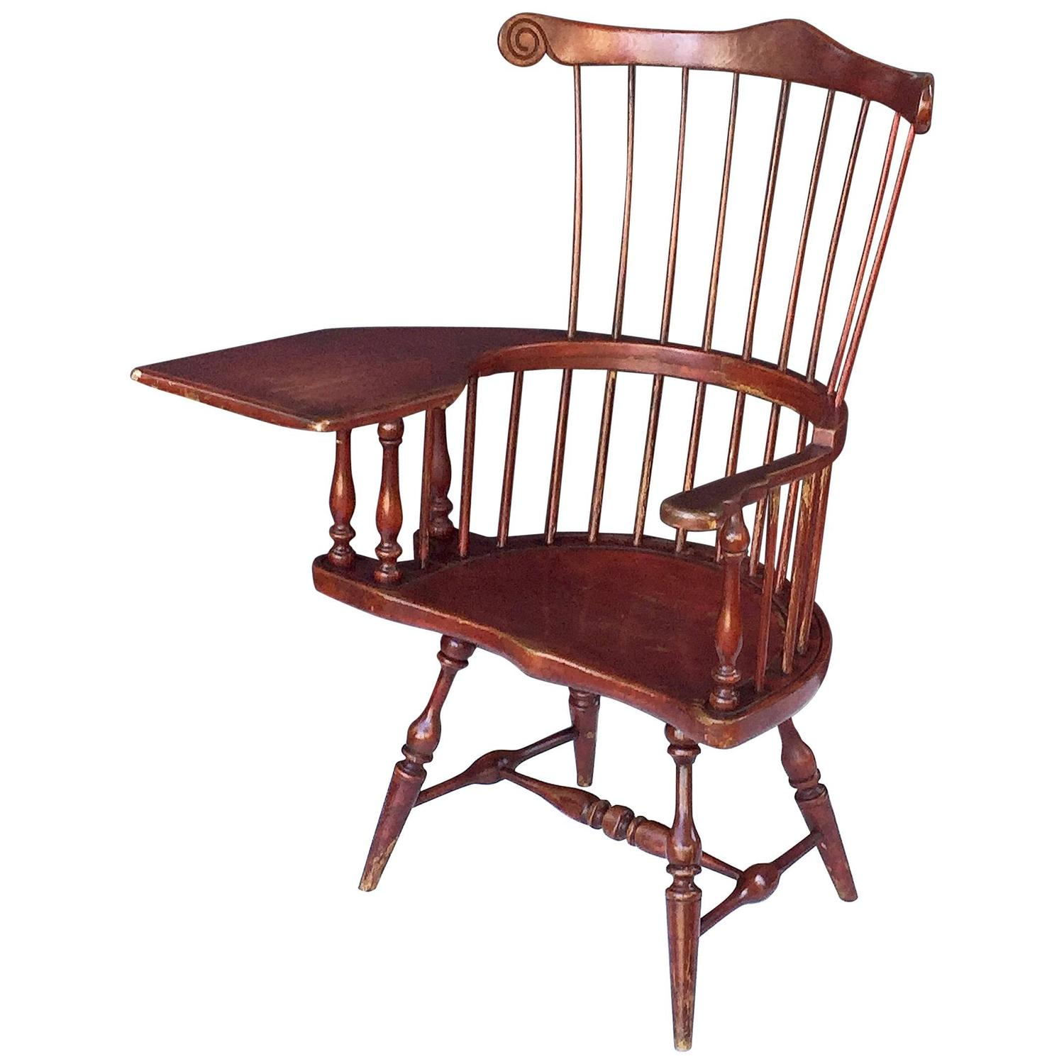 pottery barn windsor chair tin rail desk design ideas