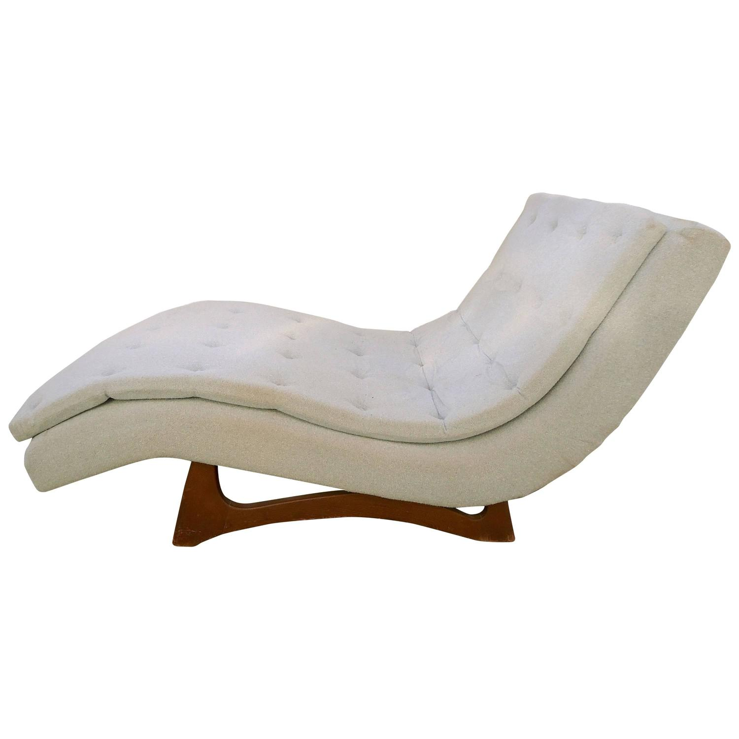 large lounge chair bergere dining chairs chaise by adrian pearsall at 1stdibs