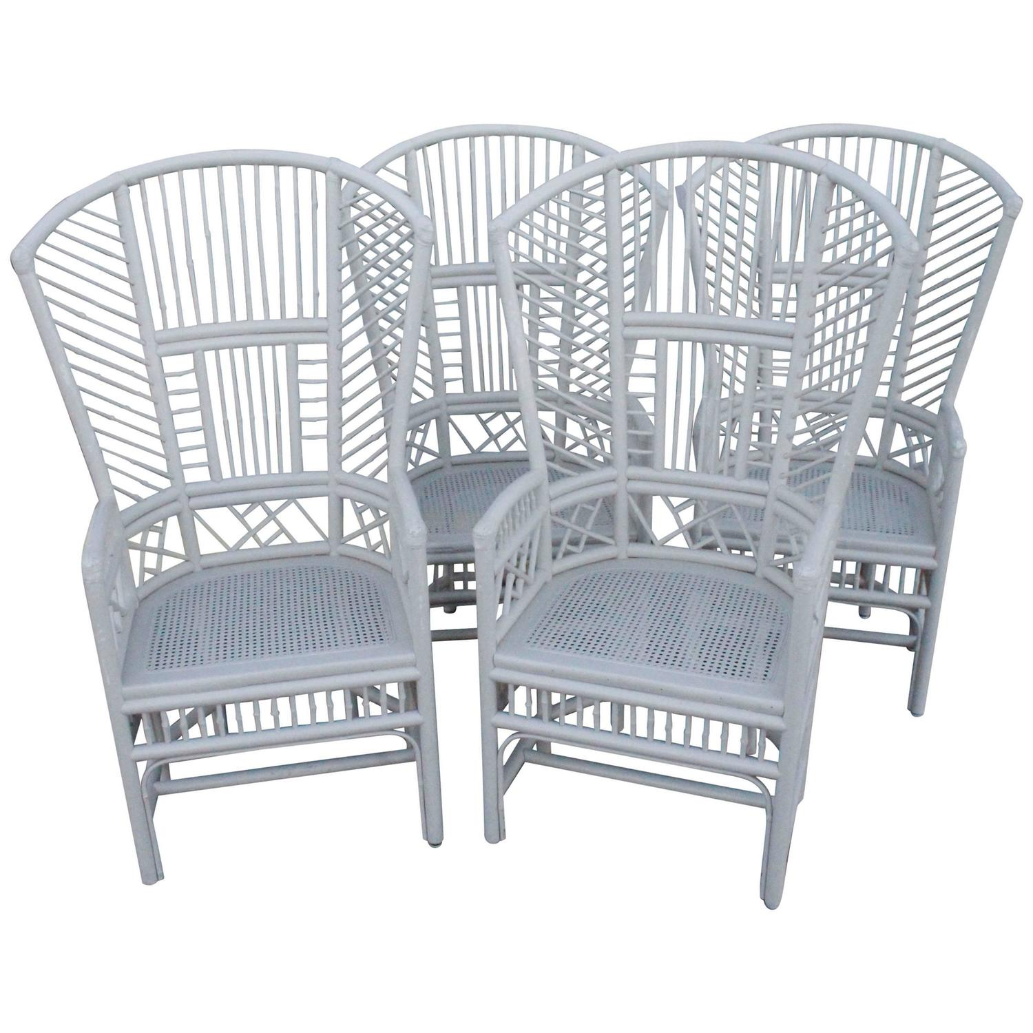 chinese chippendale chairs uk wing chair slip covers set of four brighton pavilion high back rattan club for sale at 1stdibs