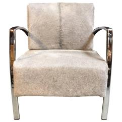 Cowhide Chairs Modern Broda Chair Parts Lounge With Grey For Sale At 1stdibs