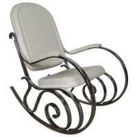 Midcentury Maison Jensen Chrome Rocking Chair For Sale at ...