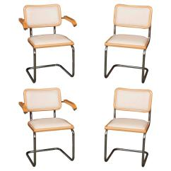 Breuer Chairs For Sale Computer Game Chair Set Of Four Marcel Quotcesca Quot At 1stdibs