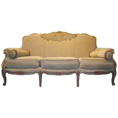 French Style Sofas For Sale Room And Board Metro Sofa Napoleon Iii In Beige Chenille Frame