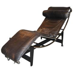 Le Corbusier Chair Wingback Recliner Canada Early Jeanneret Perriand Lc4 Chaise Lounge For Sale At 1stdibs