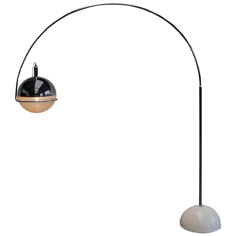 Arc Lamp by Fabio Lenci, Italy, circa 1960 For Sale at 1stdibs