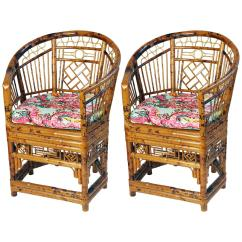 Bamboo Chairs For Sale Eames Lounge Chair Used Pair Of Brighton Pavilion Chinoiserie Style