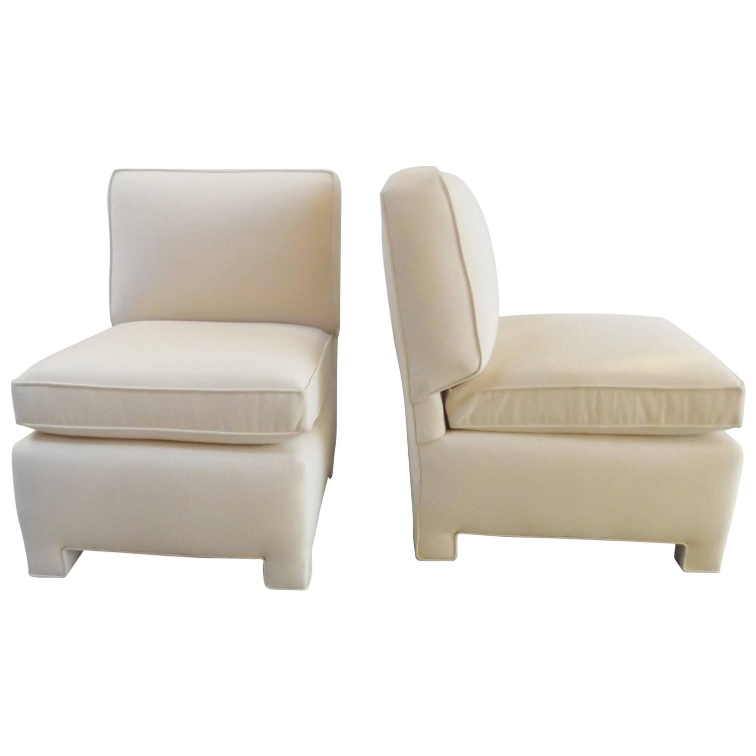 Small Club Chair Pair Of Billy Baldwin Small Club Chairs