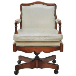 Swivel Chairs For Sale Coleman Deck Chair With Table Khaki Vintage Widdicomb Leather Desk At
