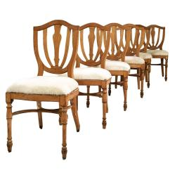 Cowhide Chairs Nz Red Adirondack Plastic Vintage Maple Dining In Brazilian Ivory