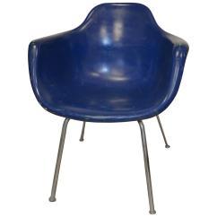 Fiberglass Shell Chair Wheelchair Racing Midcentury Miller Eames Era By