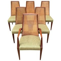 Cane Back Chairs For Sale Power Chair Companies Mid Century Modern Tall Dining By