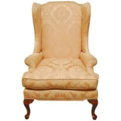 Queen Ann Chairs Knoll Rpm Chair Anne Mahogany Wing For Sale At 1stdibs