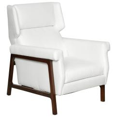 Modern Wing Chair Ergonomic Headrest Early 20th Century At 1stdibs
