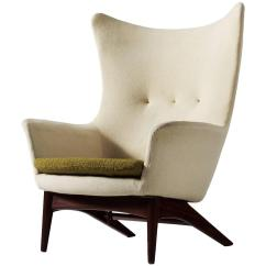 Reclining Wingback Chair White Plastic Adirondack Chairs Canada H W Klein For Sale At 1stdibs