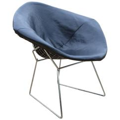 Bertoia Wire Chair Original Topcon And Stand Harry For Knoll Diamond Sale At 1stdibs